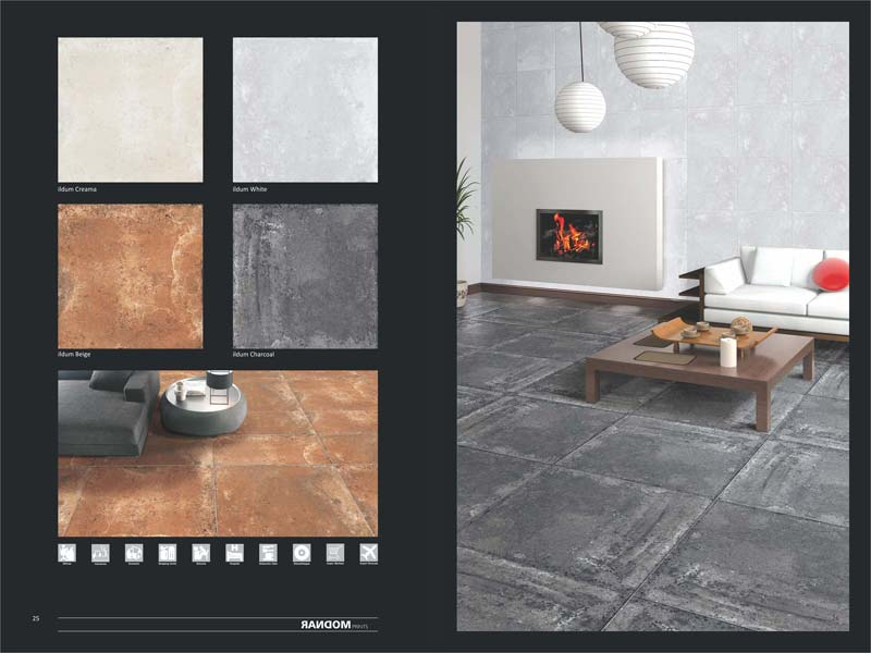 Full Polished Glazed Porcelain Tiles 600X600mm 04