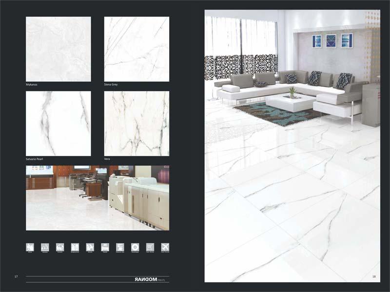 Full Polished Glazed Porcelain Tiles 600X600mm 06
