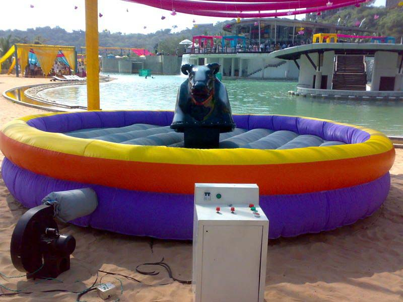 Inflatable Bull Ride