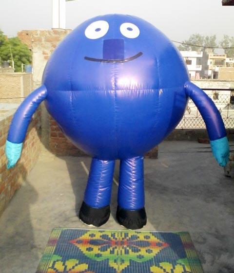 Walking Character Balloon