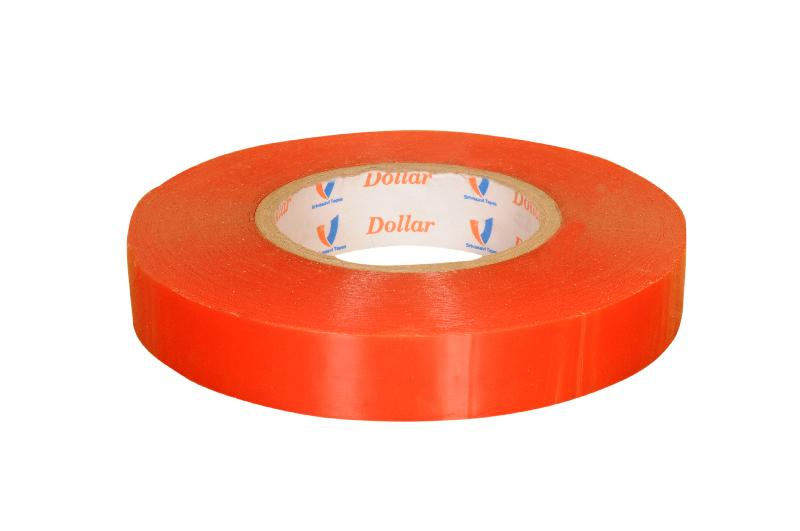 Double Sided Polyester Tape with Red Liner