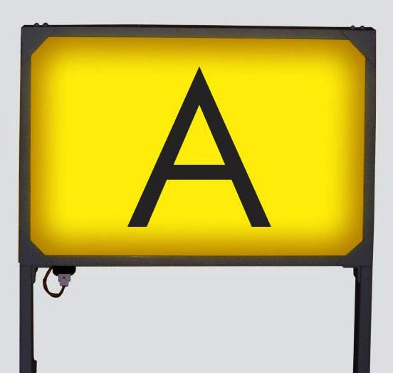 Ercon Frangible Taxi Way Sign