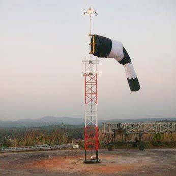 Frangible Windsock Mast