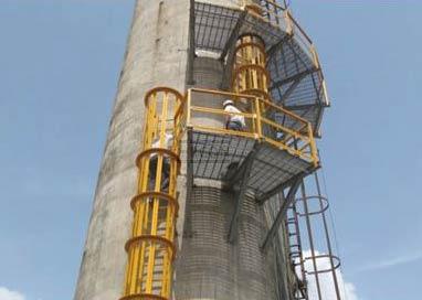 FRP Cage Ladder