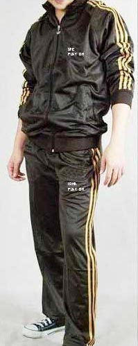 Brown Sports Track Suit