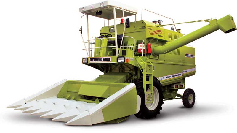 Dasmesh (6100) Maize Combine Harvester