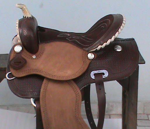 Barrel Horse Saddle 02