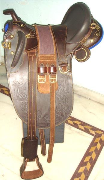 Stock Horse Saddle 01