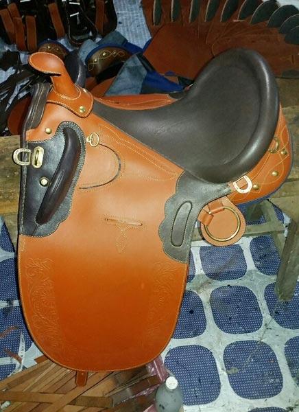Stock Horse Saddle 02