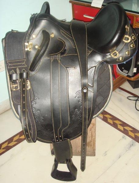 Stock Horse Saddle 04