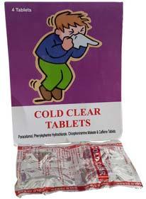 Paracetamol Phenlyephrine Hcl Tablet Cpm & caffein tablet