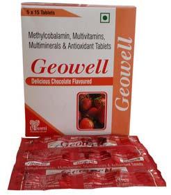 Multivitamins Multiminers Antioxident Methylcobalamin