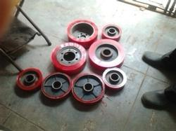 Polyurethane Trolley Wheels