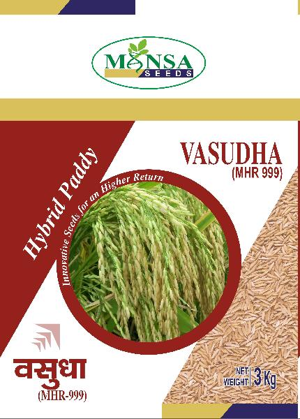 Hybrid Paddy Seeds (Vasudha-999)