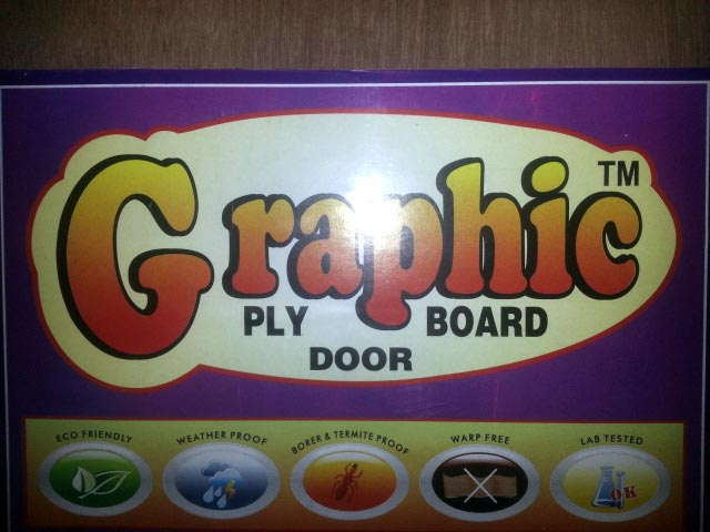 Graphic Flush Door