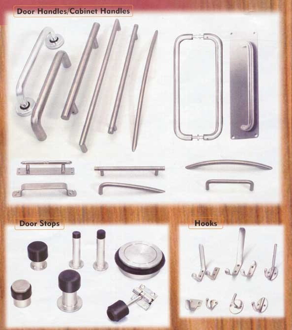Steel Dooor Handle, Steel Dooor Hooks