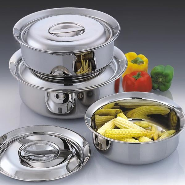 Stainless Steel Pans 01