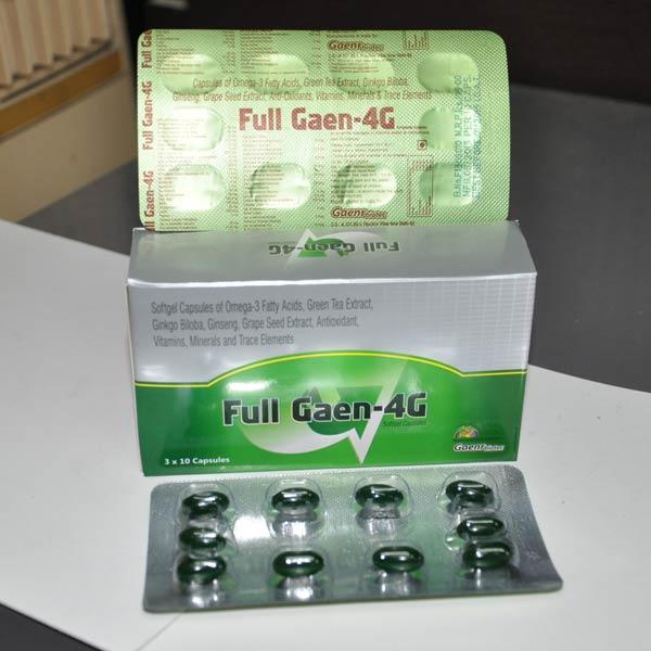 Full Gaen 4G Capsules
