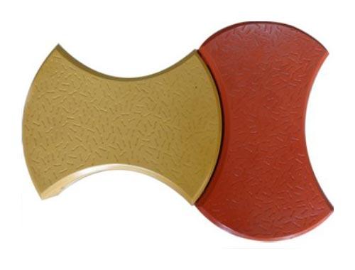 Round Dumbbell Interlocking Tiles 01