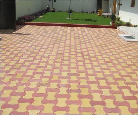 Round Dumbbell Interlocking Tiles 02