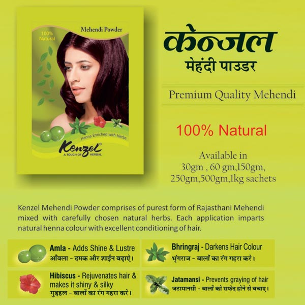 Natural Henna Hair Powder