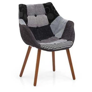 Patchwork Lounge Chair (Item Code : CHCL0621)