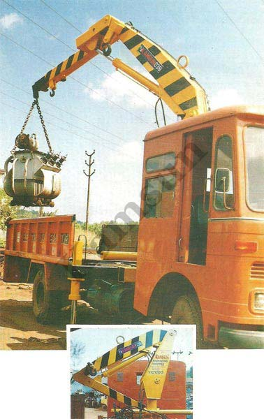 Truck Mounted Mobile Crane