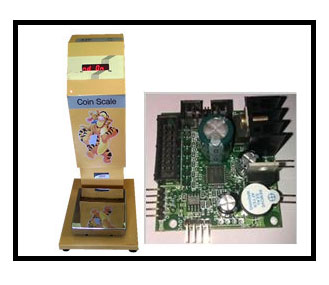 Coin Weighing Scale PCB
