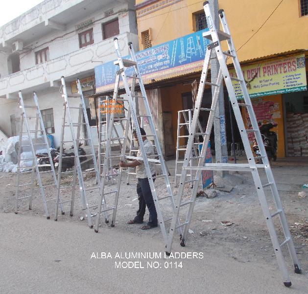 Aluminium Dual Purpose Ladder