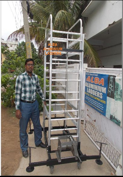 Aluminium Platform Lift Ladder