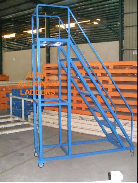 MS Step Trolley Ladder