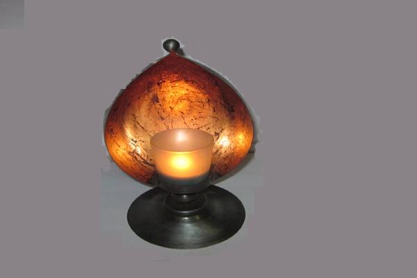 Decoretive candle holder
