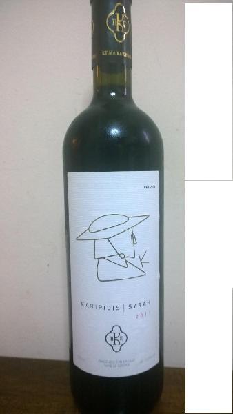 Karipidis Winery Syrah Red Wine