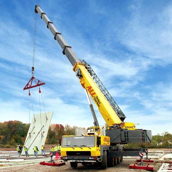 Crane Rental For Shifting