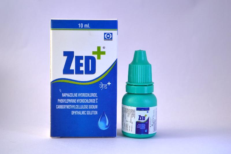 Zed+ Eye Drops