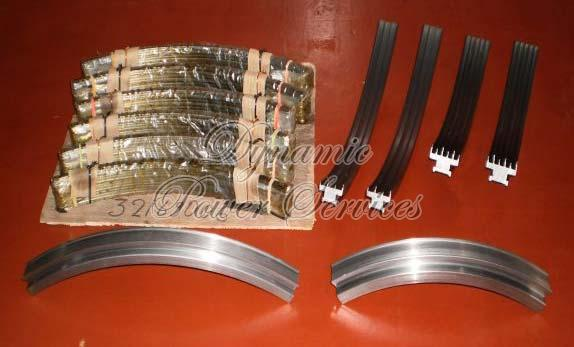 Turbine Shaft Sealing Rings