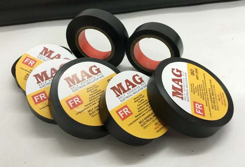 PVC Electrical Insulation Tapes Manufacturer Supplier in Delhi India
