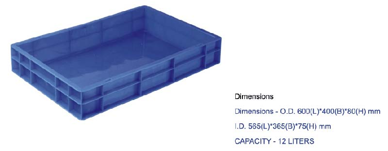 Plastic Crates Series (600-400)