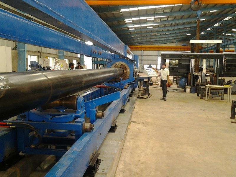 Pipe Hydro Testing Machine