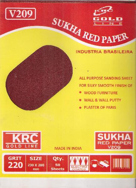 Red Sukha Paper