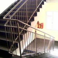 Mild Steel Stair Railing 03