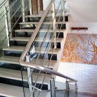 Mild Steel Stair Railing 04