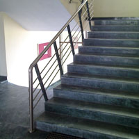 Mild Steel Stair Railing 07