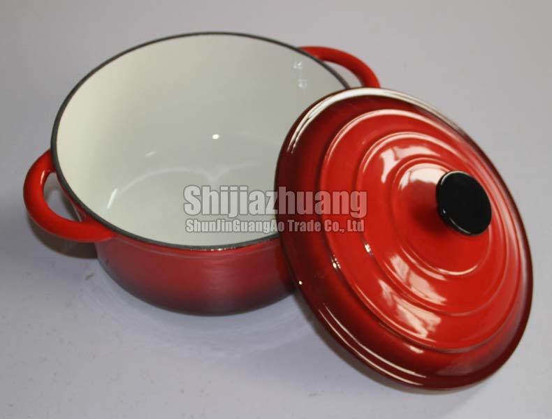22cm Enamel Pot