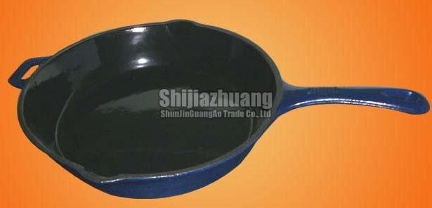 25cm Round Blue Fry Pan