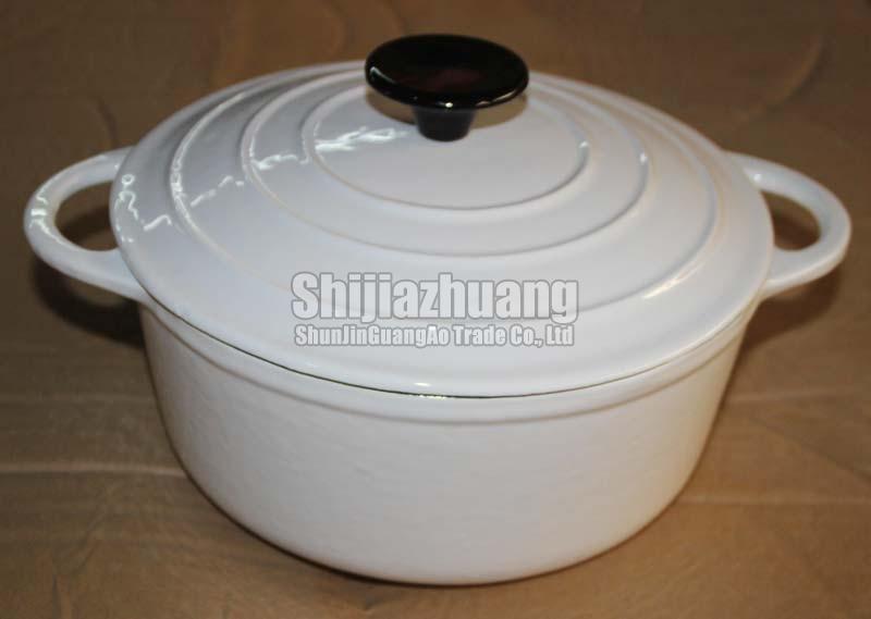 26cm Round Enamel Casserole Pot