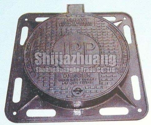 Manhole Cover with Frame