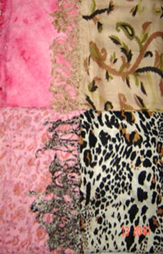 Hand Woven Viscose Scarves