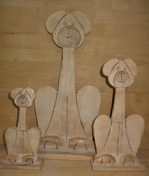 Wooden Cartoons 02