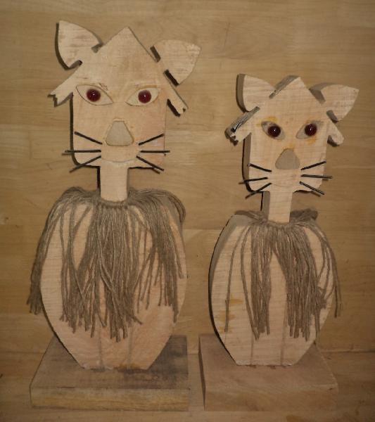 Wooden Cartoons 04